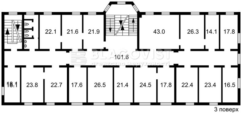 Нежитлове приміщення, R-2710, Мечникова, Київ - Фото 6