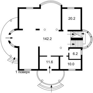 Дом Вишенки, A-108681 - Фото 3