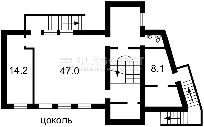 A-108695, Ярославов Вал, Киев - Фото 3