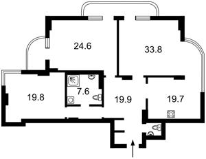 Квартира Старонаводницкая, 4в, Киев, M-33147 - Фото2