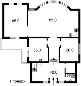 Будинок Козин (Конча-Заспа), R-15725 - Фото 3