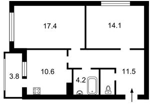 Квартира Армянская, 6а, Киев, Z-261347 - Фото2