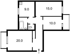 Квартира Шелковичная, 48, Киев, Z-1892317 - Фото2