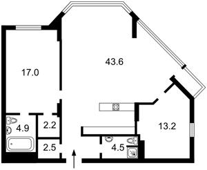Квартира Болсуновская (Струтинского Сергея), 2, Киев, M-33157 - Фото2