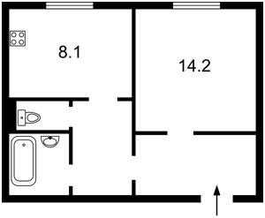 Квартира Чигоріна, 61а, Київ, C-58856 - Фото 2