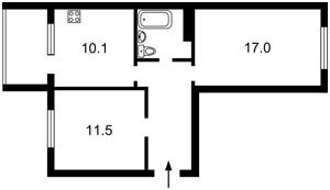 Квартира Стеценко, 75в, Киев, Z-299056 - Фото2