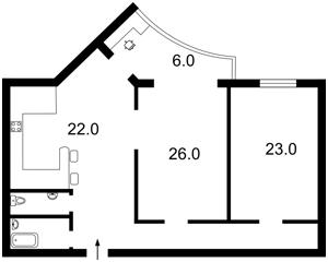 Квартира Миропольская, 39, Киев, Z-232674 - Фото2