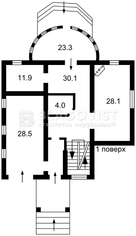 Дом Z-219575, Белогородка - Фото 3