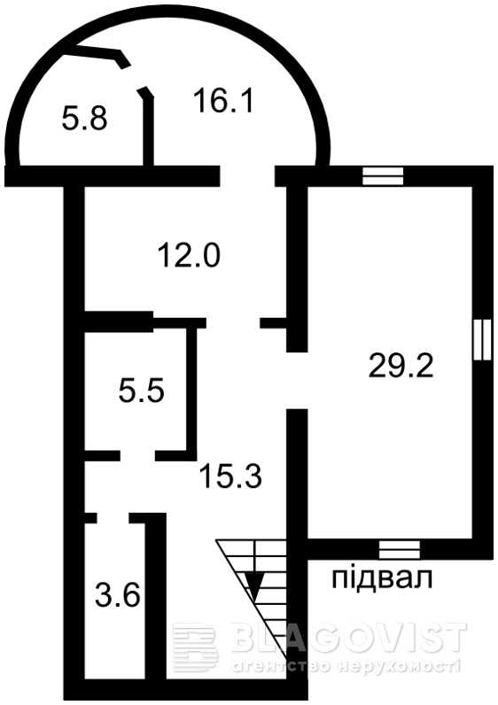 Дом Z-219575, Белогородка - Фото 2