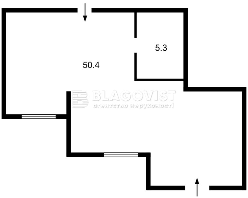 Нежилое помещение, H-41550, Мира, Софиевская Борщаговка - Фото 3