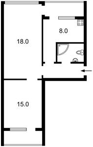 Квартира Гончара О., 47/49, Київ, D-10103 - Фото 2