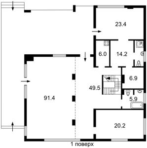 Дом Козин (Конча-Заспа), C-104857 - Фото1