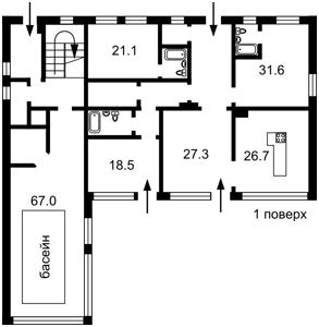 Дом Старокиевская, Козин (Конча-Заспа), C-104869 - Фото 2
