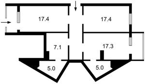 Нежилое помещение, Григоренко Петра просп., Киев, Z-297183 - Фото2