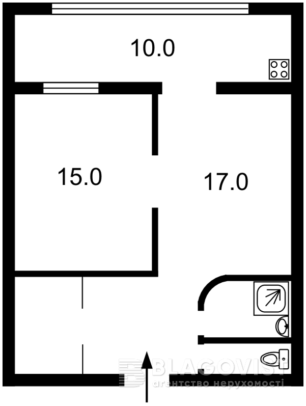 Квартира M-33209, Хмельницкого Богдана, 32, Киев - Фото 5