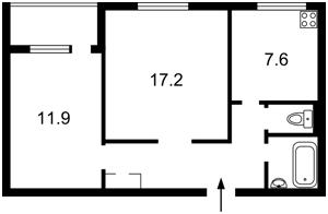 Квартира Татарская, 21, Киев, F-39739 - Фото2