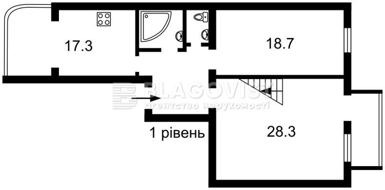 Квартира F-39750, В.Житомирська, 16/0, Київ - Фото 3