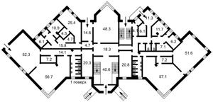 Нежилое помещение, Максимовича Михаила (Трутенко Онуфрия), Киев, A-108802 - Фото 3