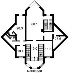 Нежилое помещение, Максимовича Михаила (Трутенко Онуфрия), Киев, A-108802 - Фото 5