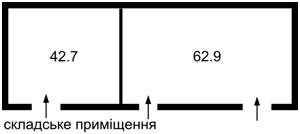 Нежилое помещение, Калиновка (Макаровский), M-33277 - Фото 2