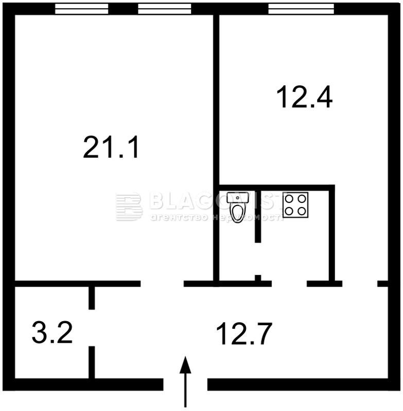 Квартира A-108854, Большая Житомирская, 8б, Киев - Фото 3