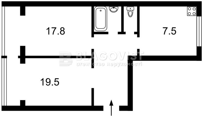 Квартира R-16988, Победы просп., 25, Киев - Фото 2