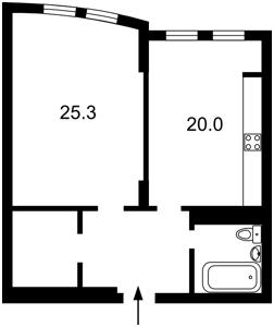 Квартира Голосеевская, 13а, Киев, R-17011 - Фото2
