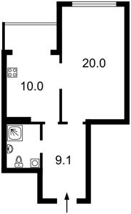 Квартира Армянская, 6а, Киев, D-33963 - Фото2