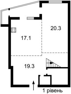 Квартира Ірпінська, 69а, Київ, F-39855 - Фото2