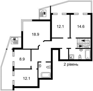 Квартира Ірпінська, 69а, Київ, F-39855 - Фото 3