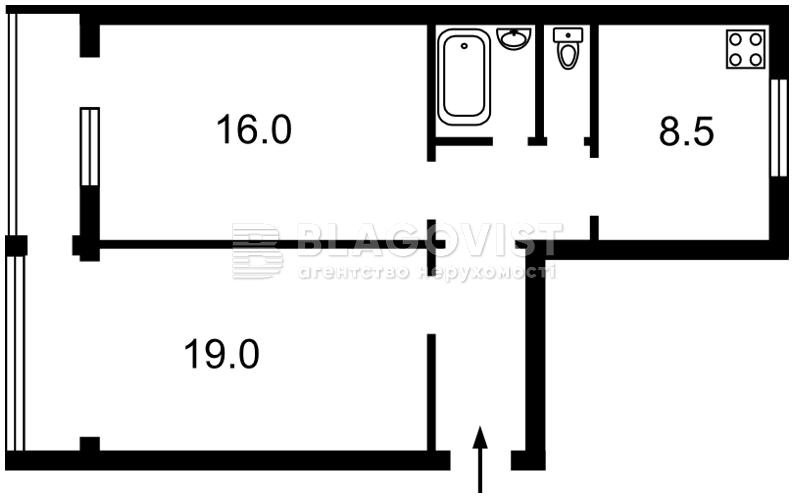 Квартира R-2725, Победы просп., 21, Киев - Фото 2