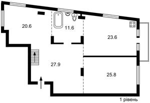 Квартира Щекавицкая, 53, Киев, F-39878 - Фото2