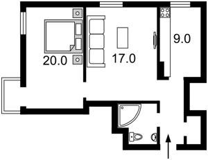 Квартира Десятинна, 1/3, Київ, Z-1180686 - Фото 2