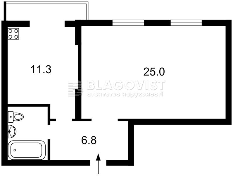 Квартира R-16321, Днепровская наб., 1а, Киев - Фото 4
