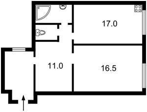Квартира Межигорская, 28, Киев, Z-110045 - Фото2