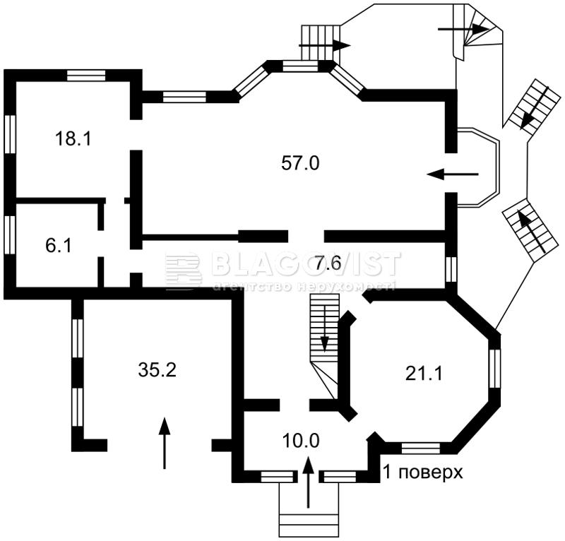 Дом P-23727, Рудыки (Конча-Заспа) - Фото 6