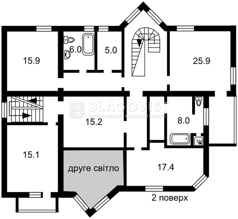 Дом A-108916, Князя Святослава (Челюскинцов пер. 2), Борисполь - Фото 6
