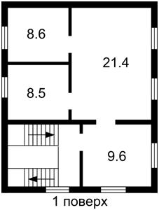 Дом Садовая, Николаевка (Макаровский), F-39887 - Фото 3