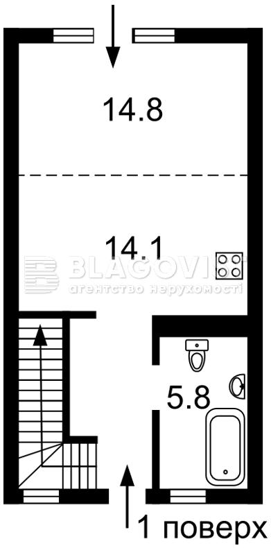 Квартира H-41998, 11-та Лінія, 5, Буча (місто) - Фото 4