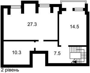 Квартира Леси Украинки, 14, Счастливое, Z-2494 - Фото 3