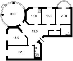 Квартира Златоустовская, 50, Киев, F-40066 - Фото2