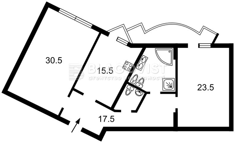 Квартира A-108961, Липкивского Василия (Урицкого), 18, Киев - Фото 5