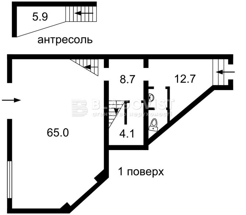 Ресторан, Гринченко Бориса, Киев, F-40017 - Фото 1