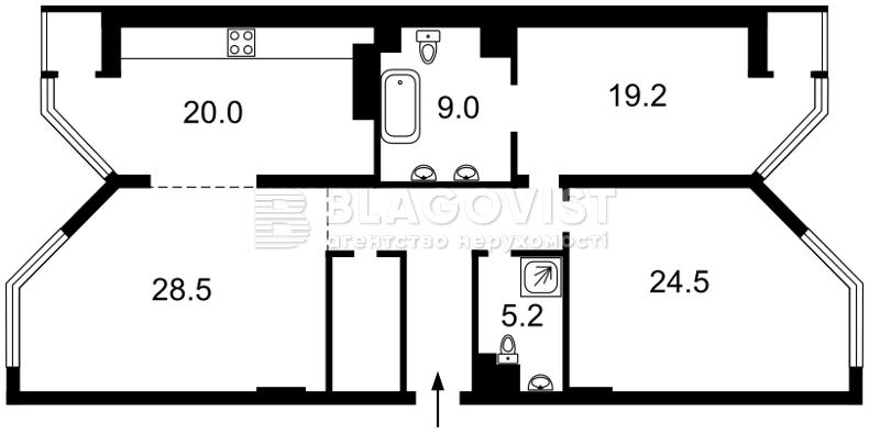 Квартира M-33454, Болсунівська (Струтинського Сергія), 2, Київ - Фото 6