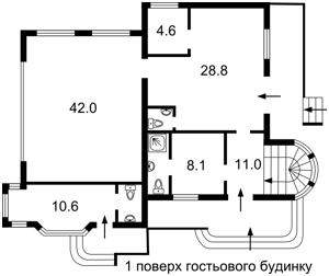 Будинок Каштанова, Зазим'я, R-22975 - Фото 4