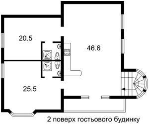 Будинок Каштанова, Зазим'я, R-22975 - Фото 5
