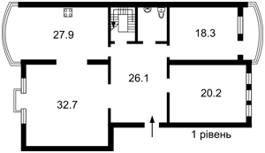 Квартира Оболонская набережная, 19 корпус 4, Киев, E-37510 - Фото 2