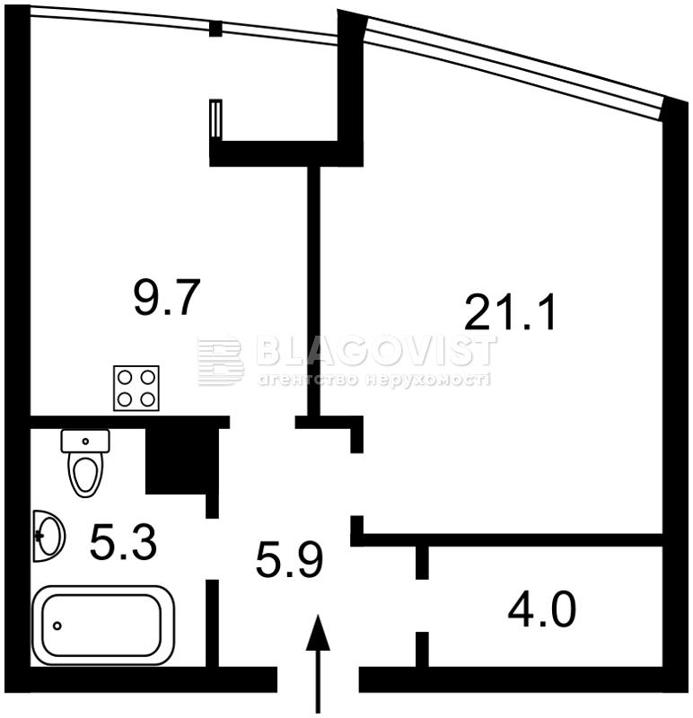 Квартира H-42068, Малевича Казимира (Боженко), 89, Киев - Фото 4