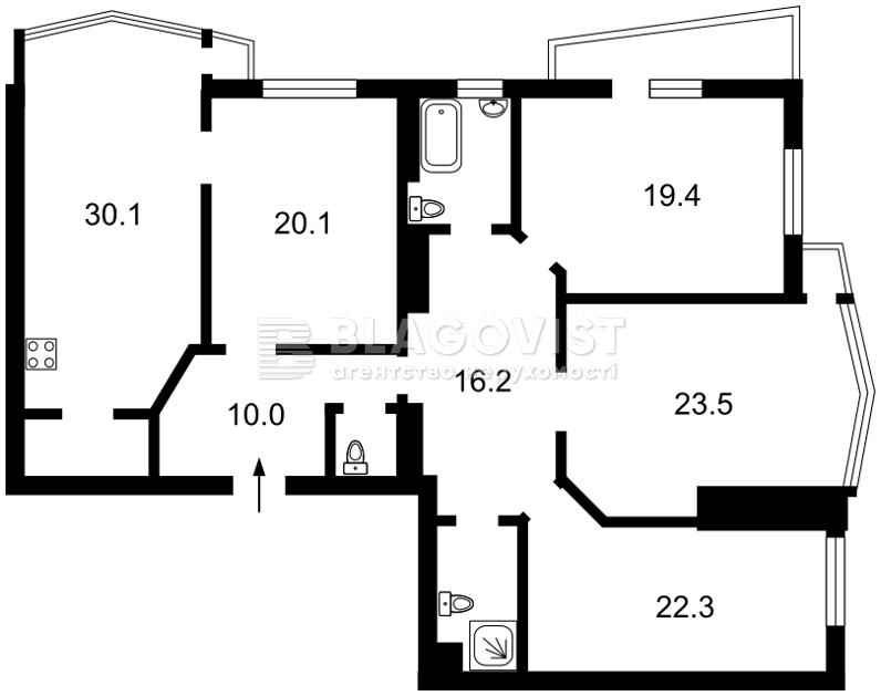 Квартира F-40122, Сечевых Стрельцов (Артема), 52а, Киев - Фото 5