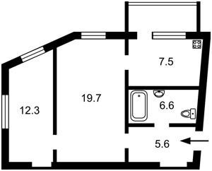 Квартира Большая Васильковская, 25, Киев, Z-336304 - Фото2